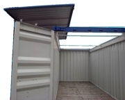 20' hard top container