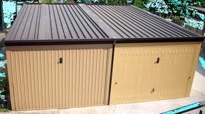 Box auto prefabbricati garage prefabbricati carport for Prezzo del pacchetto di 2 box auto