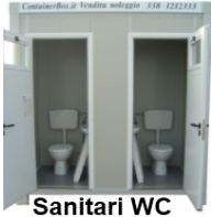 box sanitario san 3 due wc