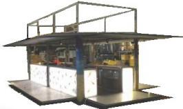 Chioschi bar container for Bar mobile usato