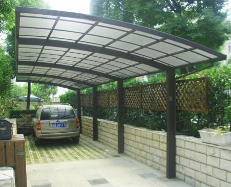 Box auto prefabbricati garage prefabbricati carport - Coperture auto da giardino ...