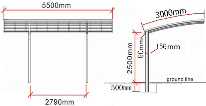 Box auto prefabbricati garage prefabbricati carport for 4 box auto con soppalco