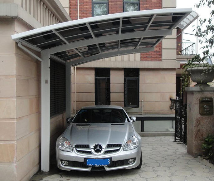 Copertura auto carport box auto garage box lamiera for Costo del garage di due auto