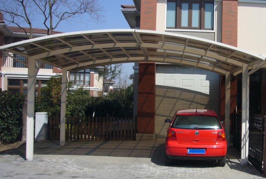 Popolare Copertura Auto, Carport, box auto, garage box lamiera HD85