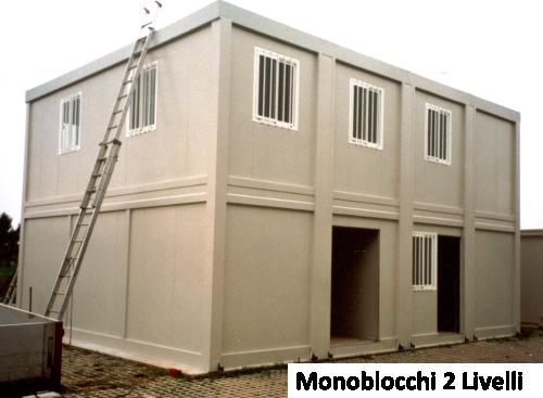 Waldem containerr box produzione azienda certificata iso 9001 for Piani di ponte su due livelli