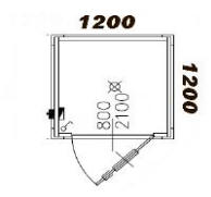 Monoblocchi container box sanitari con wc doccia - Bagno esterno prefabbricato ...