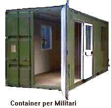 Monoblocchi prefabbricati abitativi baracche cantiere for Box in lamiera usati