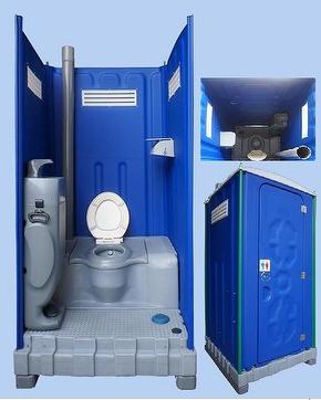 bagno chimico wc mobile plastica